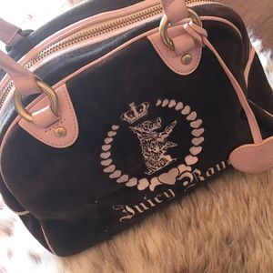 Juicy Couture Brown And Pink Bag